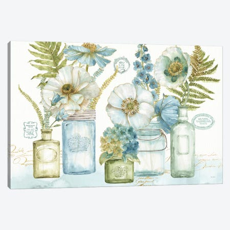 My Greenhouse Bouquet I Canvas Print #WAC7801} by Lisa Audit Canvas Art Print