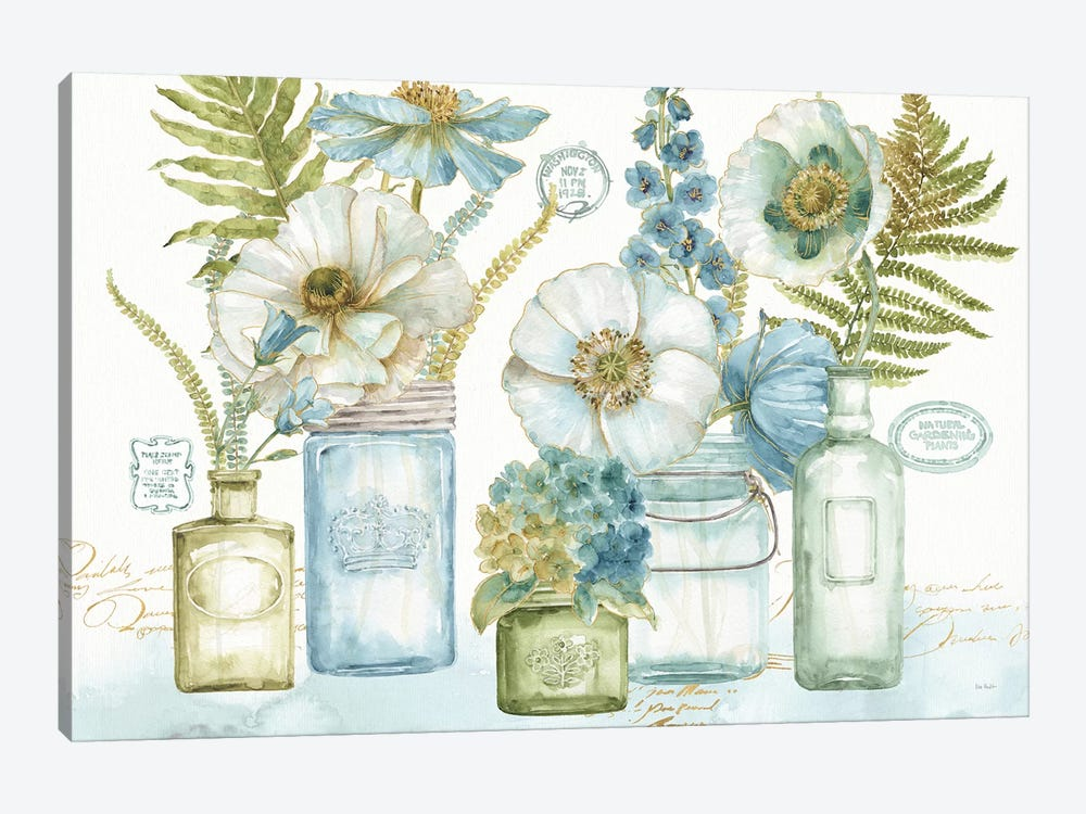 My Greenhouse Bouquet I by Lisa Audit 1-piece Canvas Wall Art