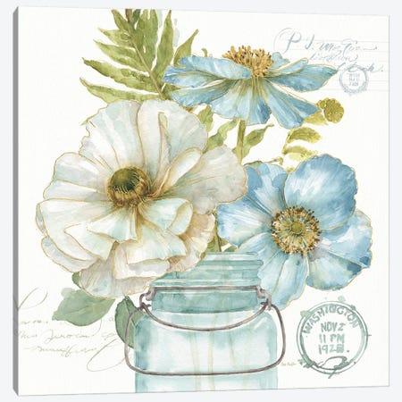 My Greenhouse Bouquet II Canvas Print #WAC7802} by Lisa Audit Art Print