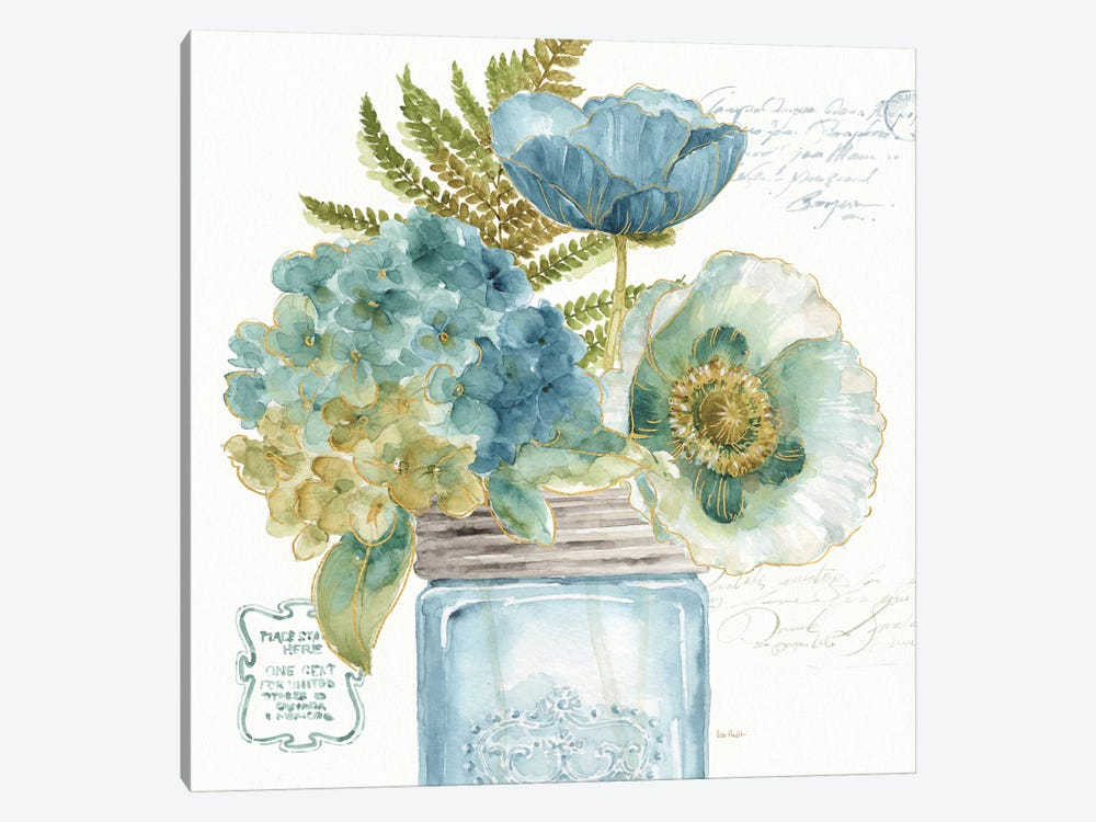 My Greenhouse Bouquet III by Lisa Audit 1-piece Canvas Art