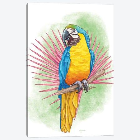Tropical Flair I Canvas Print #WAC7826} by Mary Urban Canvas Artwork
