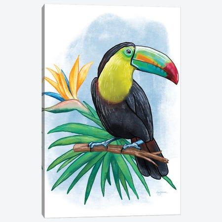 Tropical Flair IV Canvas Print #WAC7829} by Mary Urban Art Print