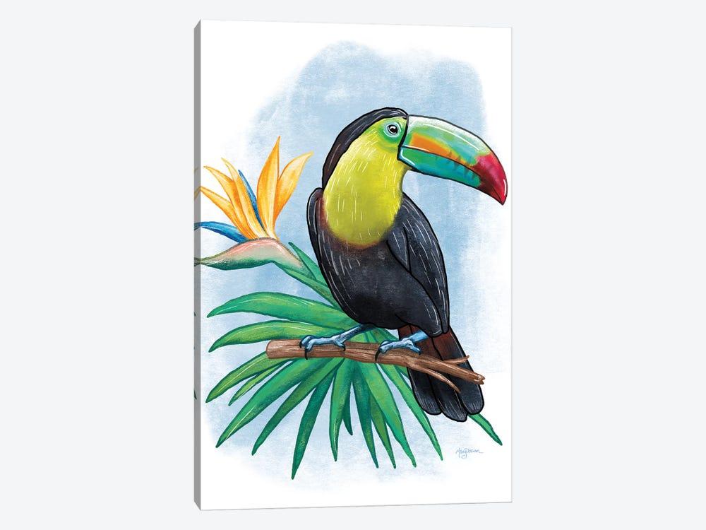Tropical Flair IV by Mary Urban 1-piece Canvas Art