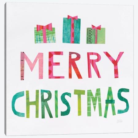 Christmas Collage III Canvas Print #WAC7832} by Melissa Averinos Canvas Art
