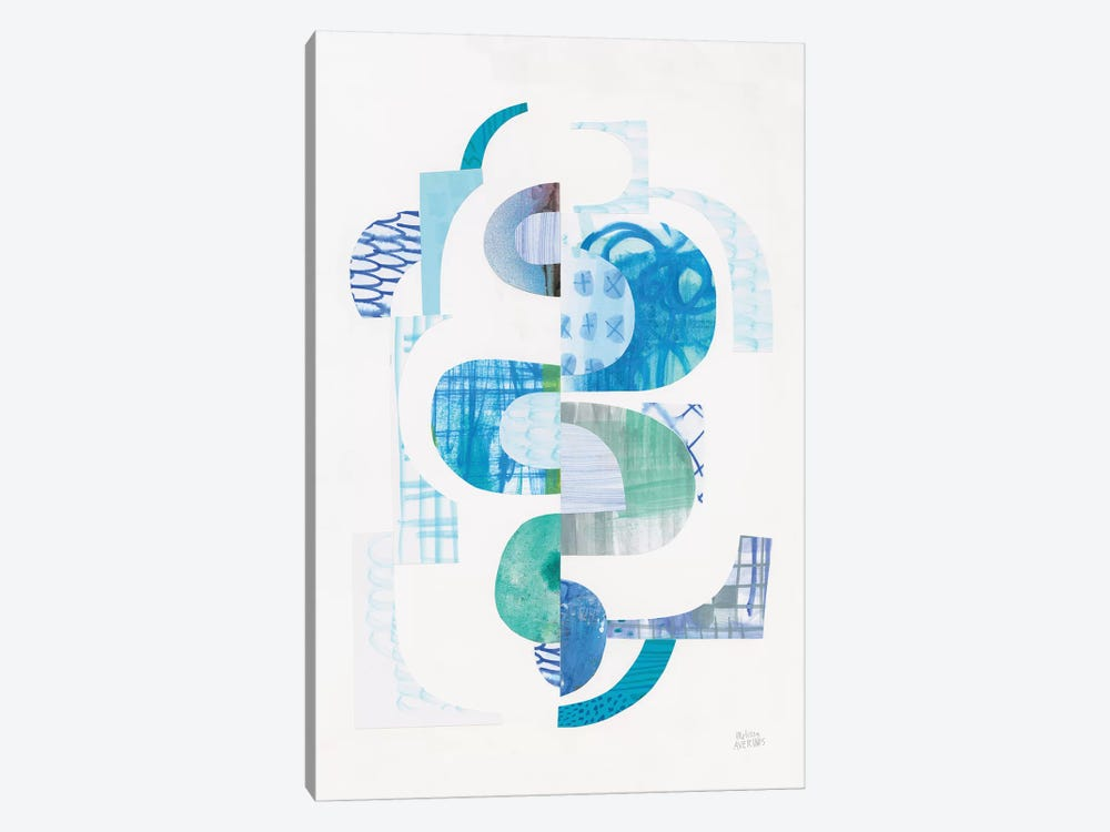 Fragments VI by Melissa Averinos 1-piece Art Print