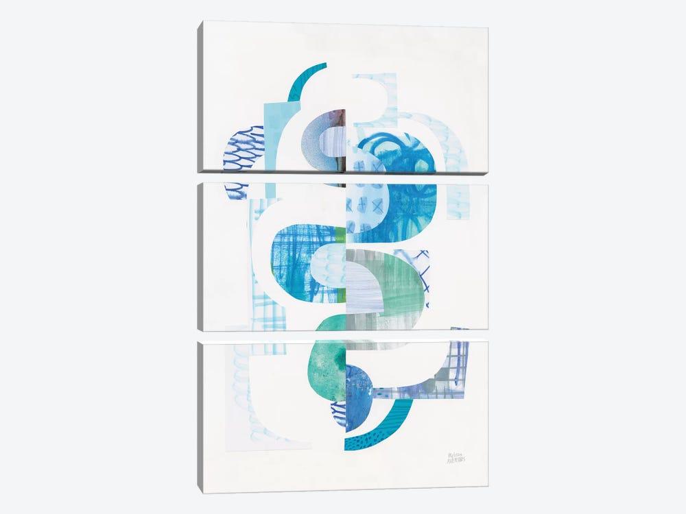 Fragments VI by Melissa Averinos 3-piece Canvas Art Print