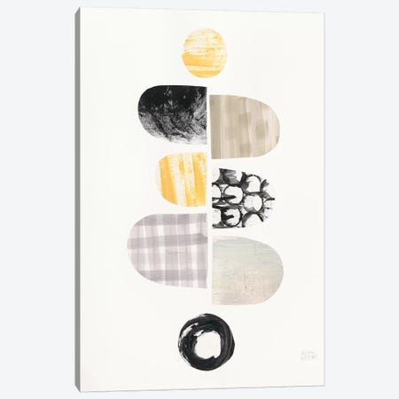 Mod Neutrals I Canvas Print #WAC7841} by Melissa Averinos Canvas Print