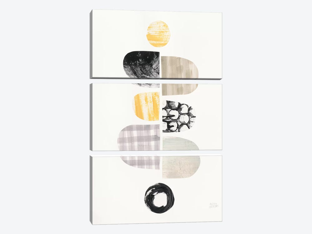 Mod Neutrals I by Melissa Averinos 3-piece Canvas Artwork