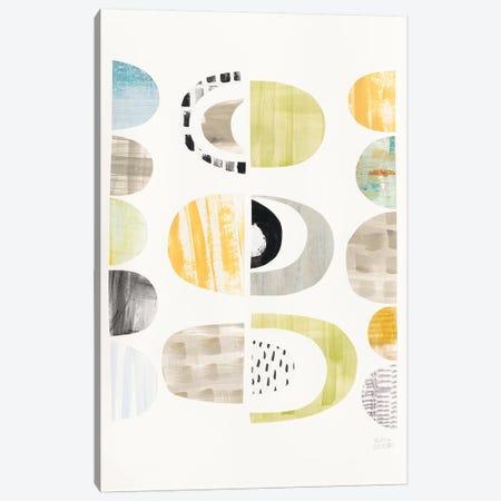 Mod Neutrals II Canvas Print #WAC7842} by Melissa Averinos Art Print