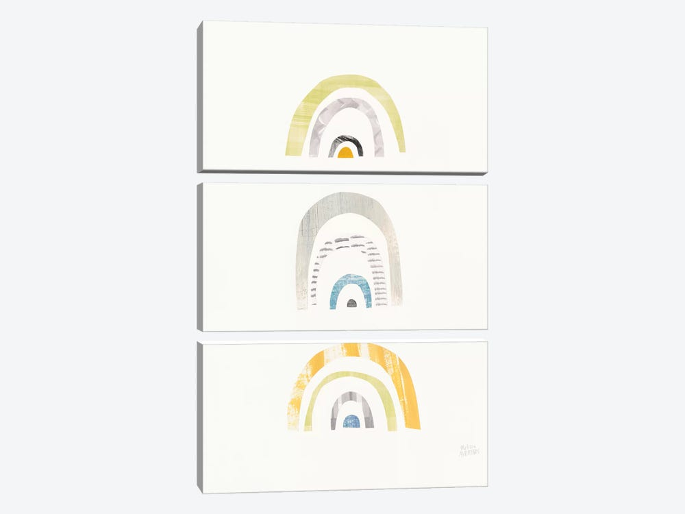 Mod Neutrals III by Melissa Averinos 3-piece Canvas Wall Art