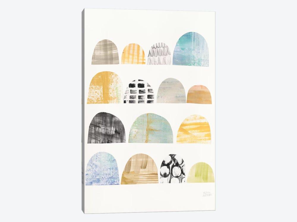 Mod Neutrals IV by Melissa Averinos 1-piece Canvas Print