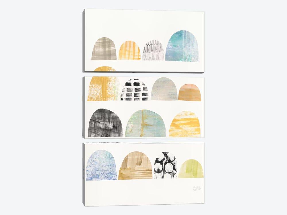 Mod Neutrals IV by Melissa Averinos 3-piece Art Print