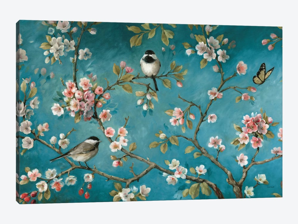 Blossom V by Lisa Audit 1-piece Canvas Wall Art