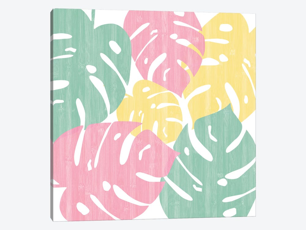 Monstera Bright On White II 1-piece Art Print