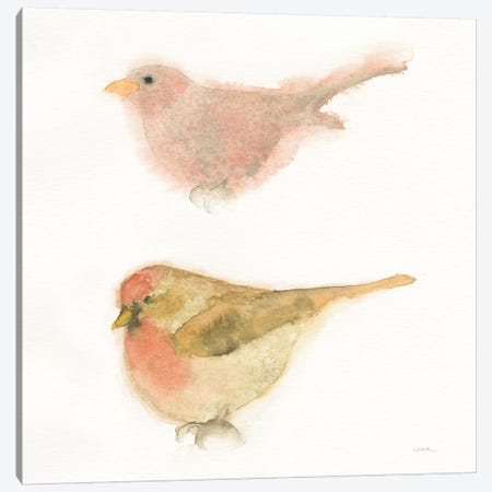 Watercolor Birds II Canvas Print #WAC7888} by Shirley Novak Art Print
