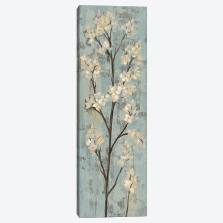 Almond Branch I: On Light Blue Canvas Print #WAC7889} by Silvia Vassileva Canvas Art Print