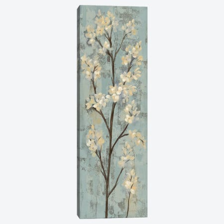 Almond Branch I: On Light Blue Canvas Print #WAC7889} by Silvia Vassileva Canvas Art Print
