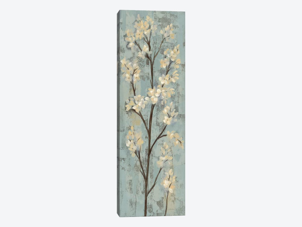 Almond Branch I: On Light Blue 1-piece Canvas Wall Art