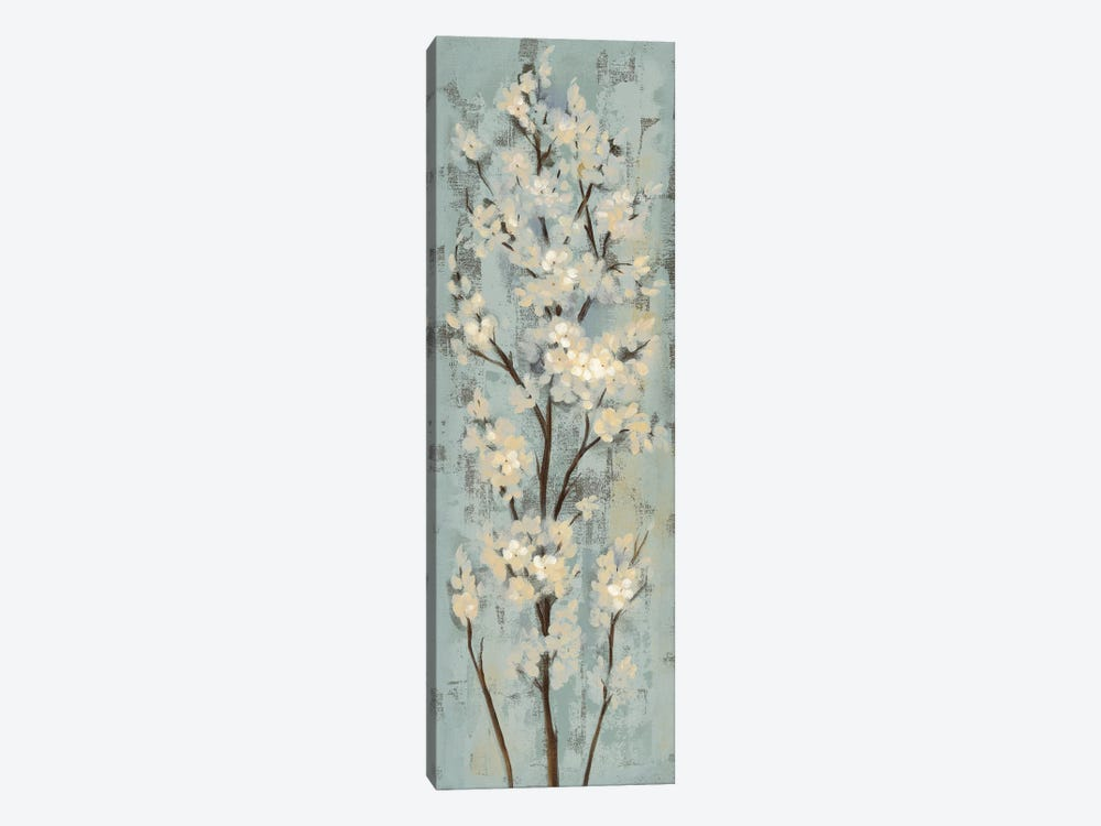 Almond Branch II: On Light Blue by Silvia Vassileva 1-piece Canvas Art