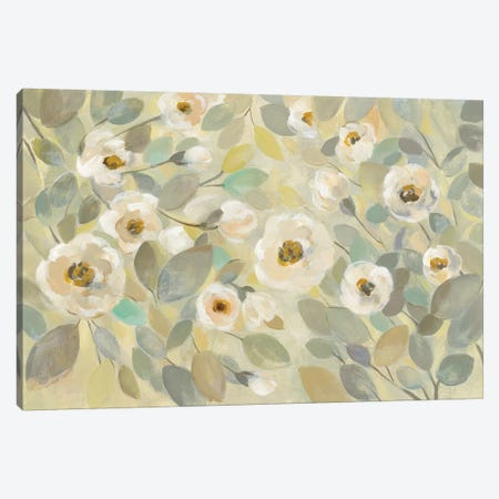 Blooming Branches Flower Canvas Print #WAC7891} by Silvia Vassileva Canvas Art