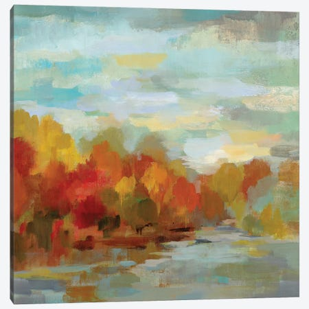 October Dreamscape Canvas Print #WAC7895} by Silvia Vassileva Canvas Print