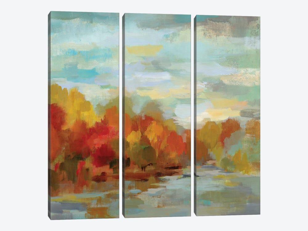 October Dreamscape by Silvia Vassileva 3-piece Canvas Art Print