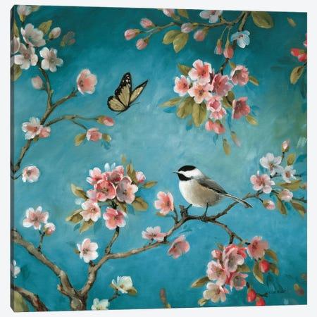 Blossom II 3-Piece Canvas #WAC789} by Lisa Audit Canvas Art Print