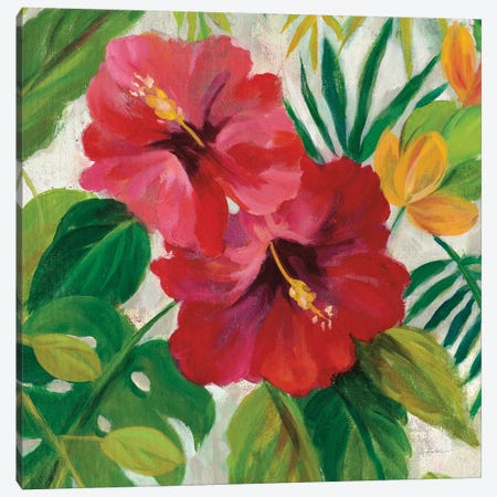 Tropical Jewels I, Detail Canvas Print #WAC7900} by Silvia Vassileva Canvas Wall Art