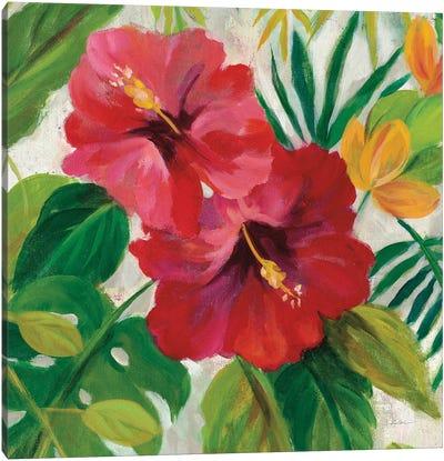 Tropical Jewels I, Detail Canvas Art Print