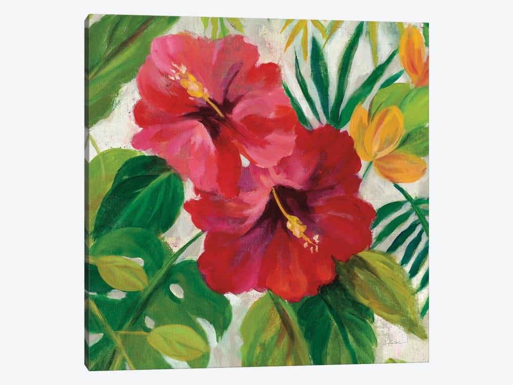 Tropical Jewels I, Detail by Silvia Vassileva 1-piece Canvas Art