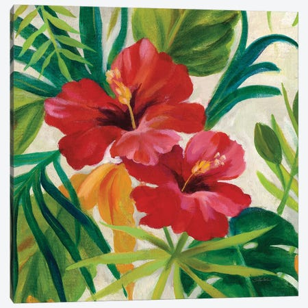 Tropical Jewels II, Detail 3-Piece Canvas #WAC7902} by Silvia Vassileva Canvas Wall Art
