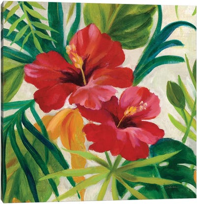 Tropical Jewels II, Detail Canvas Art Print