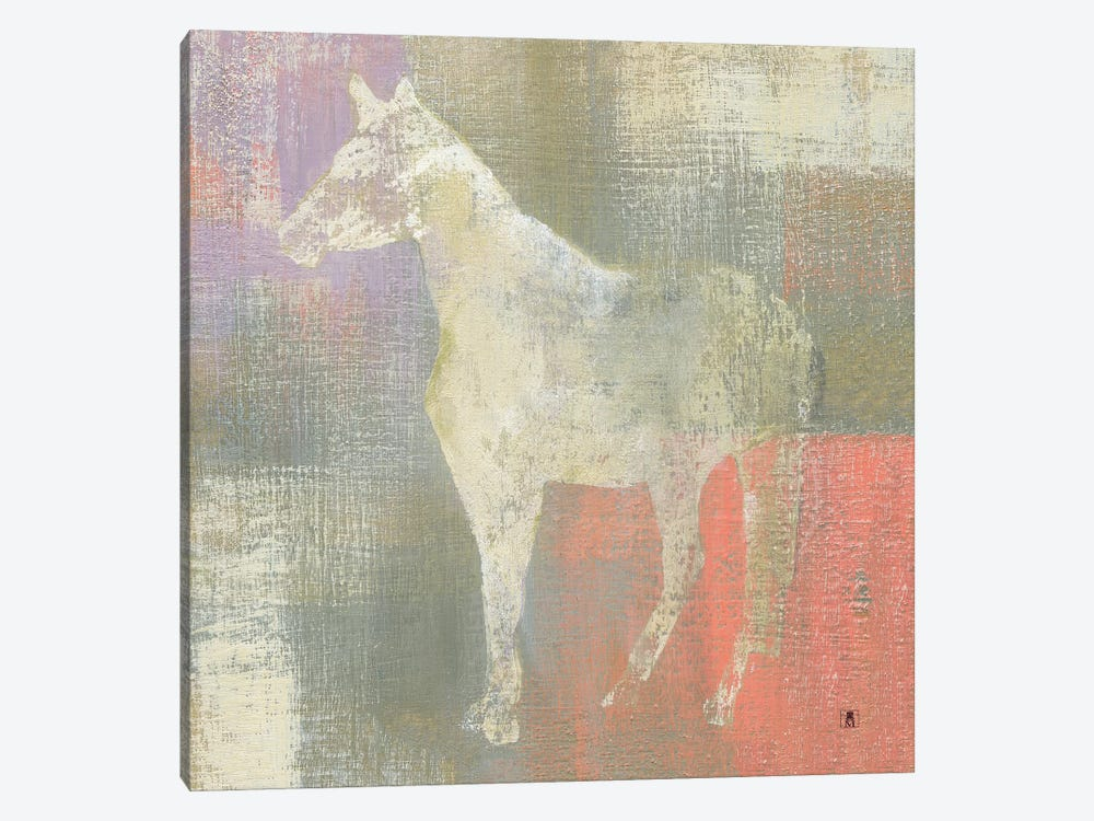 Dusk Pony by Studio Mousseau 1-piece Canvas Print