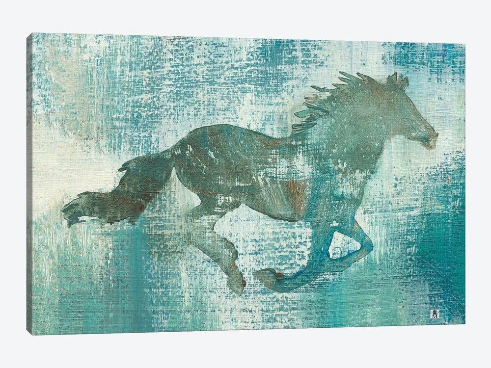 Mustang Study by Studio Mousseau 1-piece Canvas Art