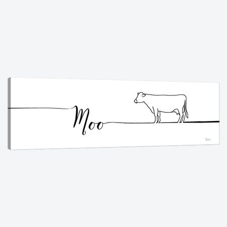 Underlined Farm III Canvas Print #WAC7939} by Veronique Charron Art Print