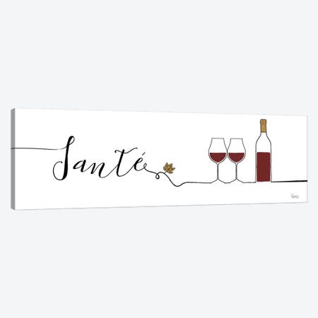 Underlined Wine II Canvas Print #WAC7946} by Veronique Charron Canvas Print