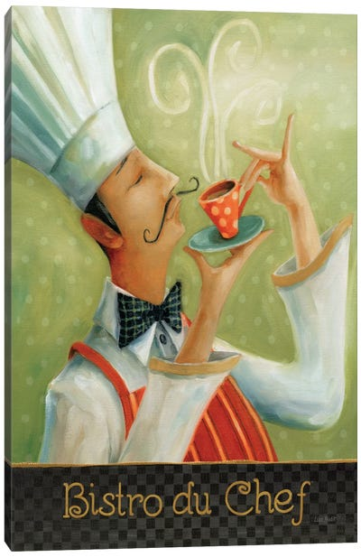Cafe Moustache I Canvas Art Print