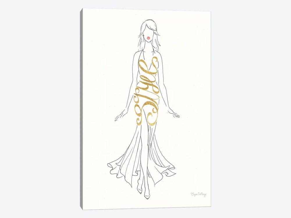 Stylish Sayings I by Wild Apple Graphics 1-piece Canvas Art Print