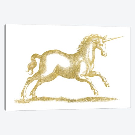 Unicorn Fantasy Canvas Print #WAC7977} by Wild Apple Portfolio Canvas Art