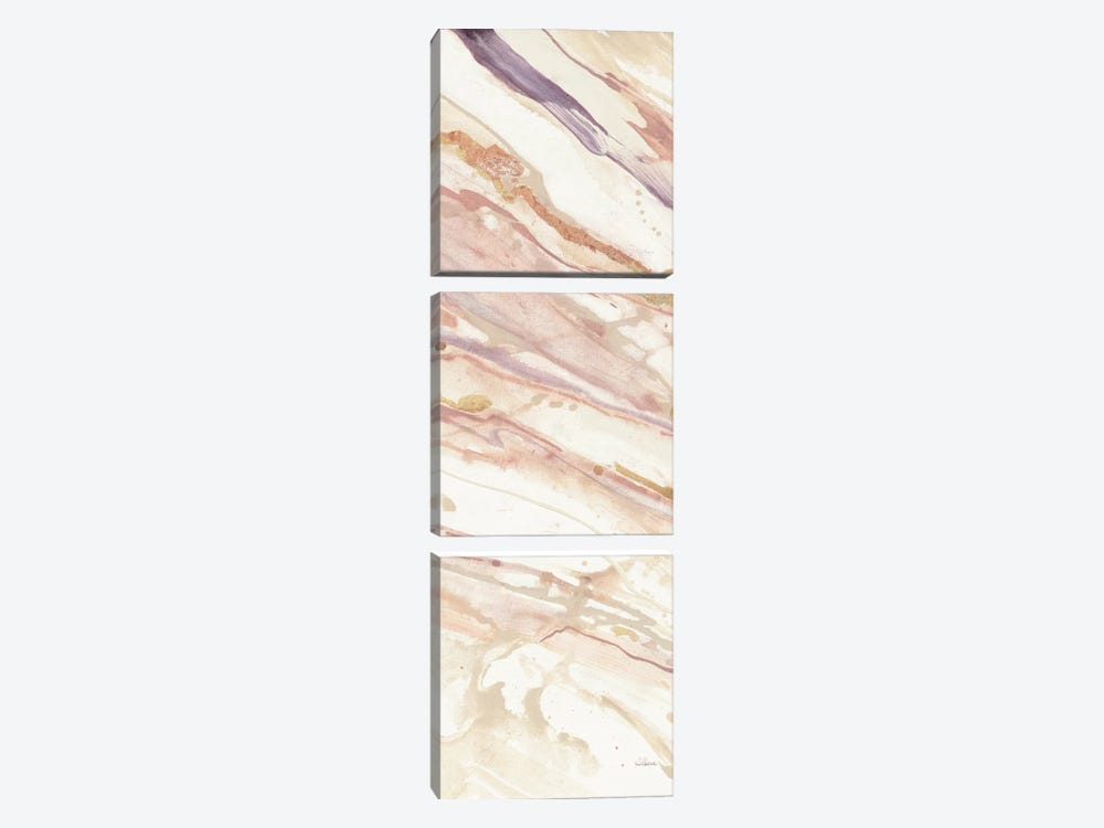 Copper Dreams II by Albena Hristova 3-piece Canvas Wall Art