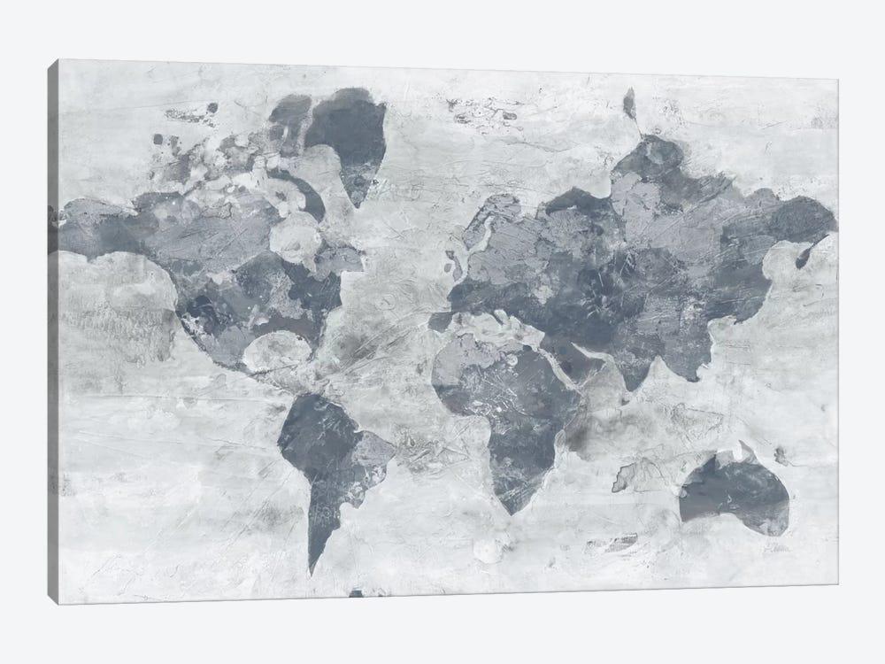 Golden World Neutral by Albena Hristova 1-piece Canvas Print