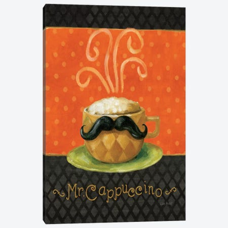 Cafe Moustache IV Canvas Print #WAC798} by Lisa Audit Canvas Wall Art