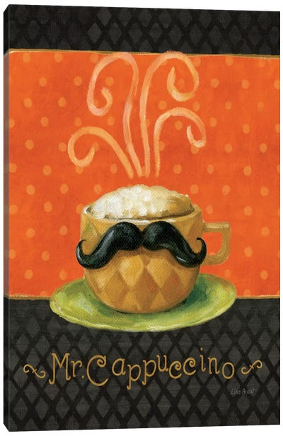 Cafe Moustache IV Canvas Art Print