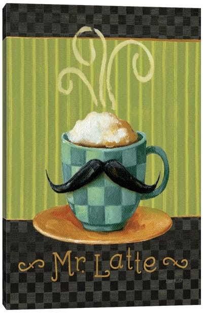 Cafe Moustache VI Canvas Art Print