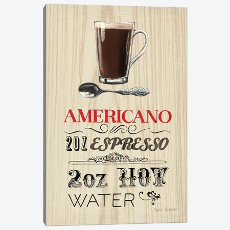 Americano  Canvas Print #WAC801} by Marco Fabiano Canvas Artwork