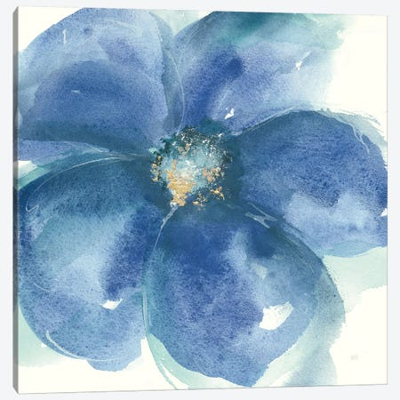 Indigo Mint IV Canvas Print #WAC8021} by Chris Paschke Canvas Art Print
