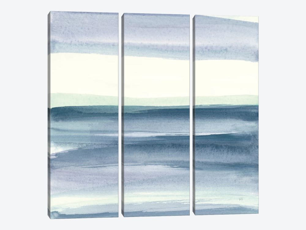 Mint Dawn IV by Chris Paschke 3-piece Canvas Artwork