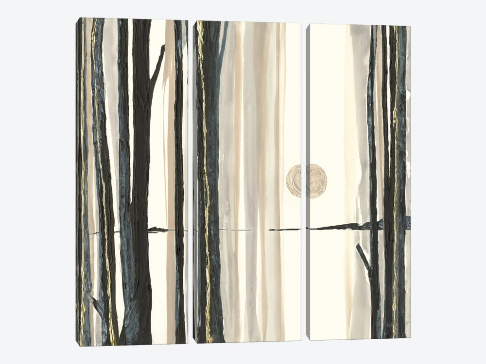 Through The Trees IV by Chris Paschke 3-piece Art Print