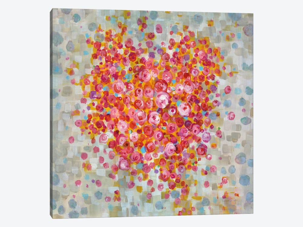Circle Of Hearts by Danhui Nai 1-piece Canvas Print