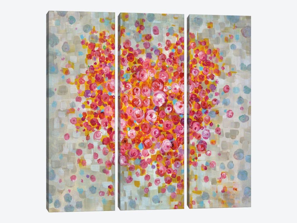 Circle Of Hearts by Danhui Nai 3-piece Art Print